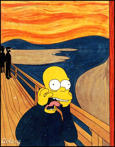 homer-simpson-the-scream